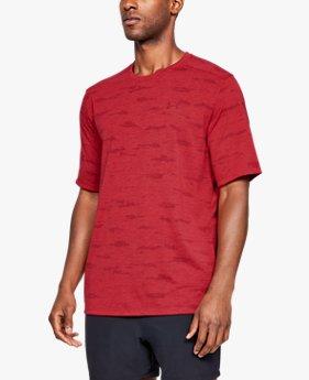 Kaus Lengan Pendek UA Siro Print untuk Pria
