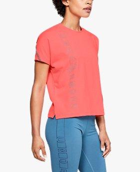 여성 UA 코튼 헤비웨이트 그래픽 티셔츠
