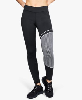 Leggings ColdGear® Armour Block Graphic para Mujer