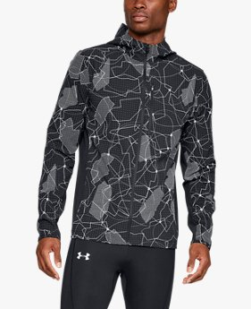 Men's UA Outrun The Storm Printed Jacket