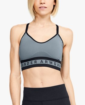 Women's UA Seamless Longline Sports Bra
