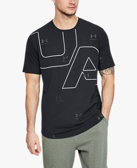 Kaus Lengan Pendek UA 5th Ave untuk Pria