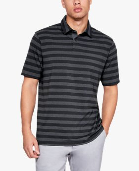 Herenpolo Charged Cotton® Scramble Stripe