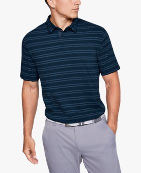 Polo Charged Cotton® Scramble Stripe da uomo