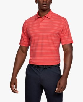 Herren Poloshirt Charged Cotton® Scramble Stripe