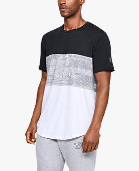 Camiseta de Manga Curta UA Baseline BTB Masculina
