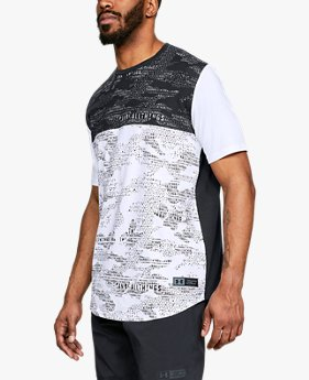 Kaus SC30 Camo Printed untuk Pria