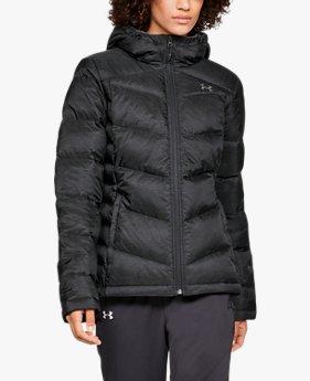 Kadın UA Outerbound Down Kapüşonlu Ceket