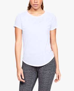 UA Loose Fashion Strappy Back Short Sleeve untuk Wanita