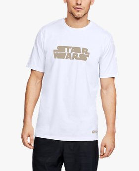 Camiseta de Treino Masculina Under Armour Star Wars Stretch