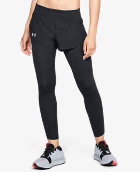 Women's UA Speedpocket 2-in-Runner Crop
