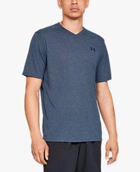 【アウトレット】UAスレッドボーン ショートスリーブ Vネック(トレーニング/Tシャツ/MEN)