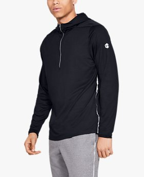Men's Athlete Recovery Track ½ Zip Hoodie