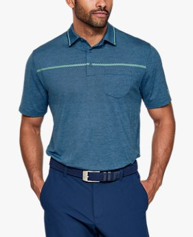 Playera Polo UA Playoff Pocket para Hombre