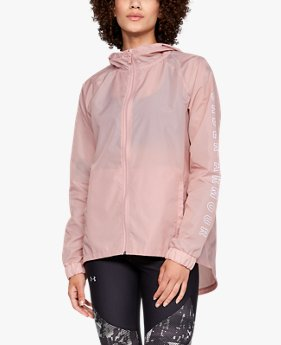 Women's UA Iridescent Woven Full Zip