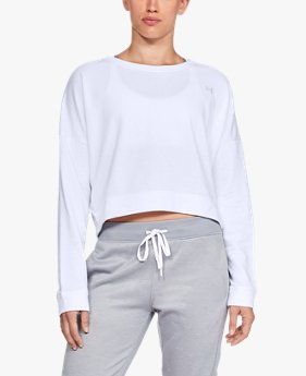 Women's UA Favorite Terry Crop Crew