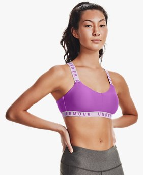 Damessportbralette UA Wordmark Strappy
