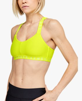 Bralette UA Wordmark Strappy Sports da donna