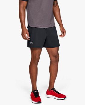 "Erkek UA Speedpocket Run 5"" Şort"