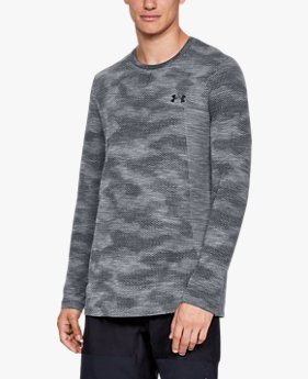 Men's UA Vanish Seamless Camo Long Sleeve