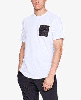 Camiseta UA Sportstyle Print Pocket Masculina