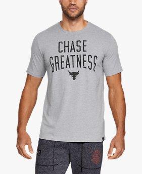 남성 UA x 프로젝트 락 체이스 그레이트니스 반팔 티셔츠
