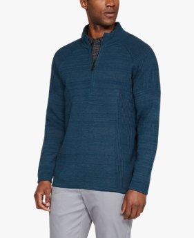 남성 UA 스레드본 ½ 집 스웨터