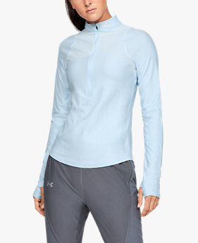 Damen UA Qualifier Oberteil mit ½-Zip