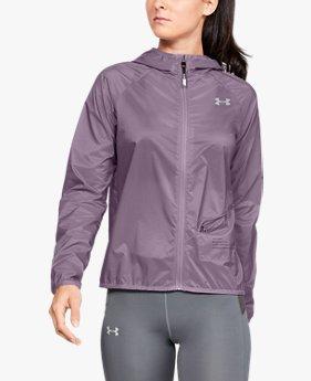 여성 UA 퀄리파이어 스톰 패키지 패커블 재킷