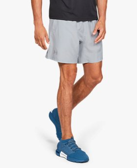 Herren UA Speed Stride Einfarbige Shorts