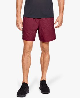 cd02b3178d75a9 Herren UA Launch SW Shorts mit Aufdruck (18 cm)
