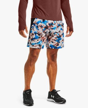 Men's UA Launch SW 18 cm Printed Shorts