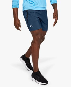 Men's UA Launch SW 7'' Branded Shorts
