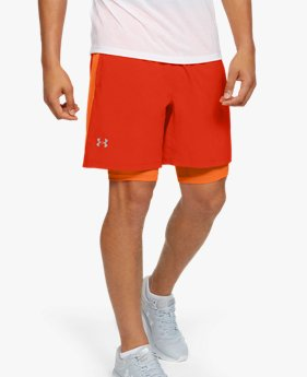 Herren UA Launch SW 2-in-1-Shorts