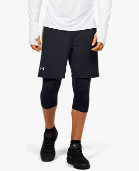 Herren UA Launch SW Lange 2-in-1-Shorts
