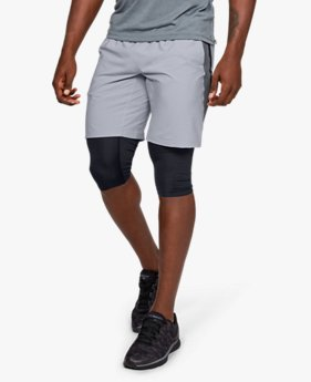 Men's UA Launch SW 2-in-1 Long Shorts
