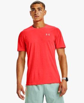T-shirt à manches courtes UA Streaker pour homme