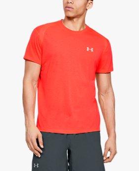 Camiseta de manga corta UA Streaker para hombre
