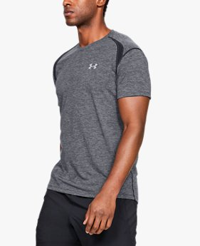 Men's UA Streaker Twist Short Sleeve