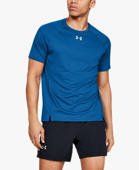 Camiseta de Corrida Masculina Under Armour Qualifier HexDelta
