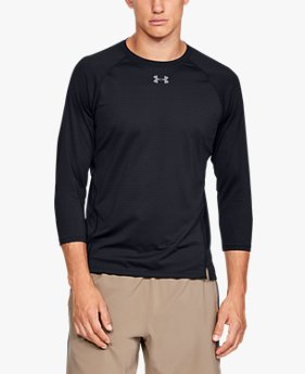 Men's UA Qualifier HexDelta ¾  Sleeve