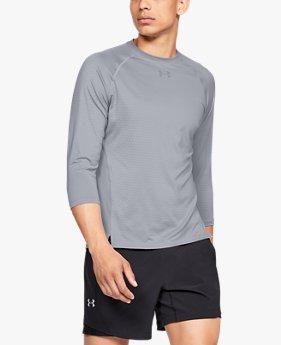 남성 UA 퀄리파이어 헥스델타 3/4 쓰리쿼터 소매 셔츠