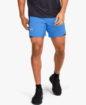 Herenshorts UA Qualifier Speedpocket 18 cm