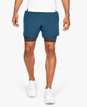 Men's UA Qualifier Speedpocket 2-in-1 Shorts