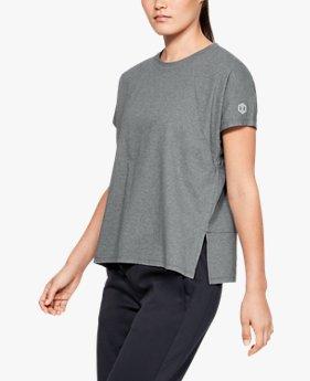 여성 애슬릿 리커버 슬립웨어 티셔츠