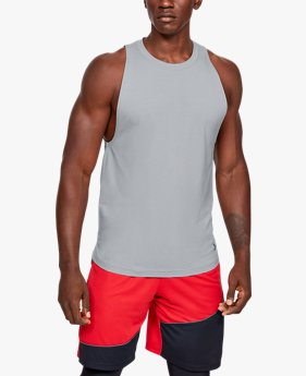 Regata de Treino Masculina Under Armour Baseline Cotton Tank