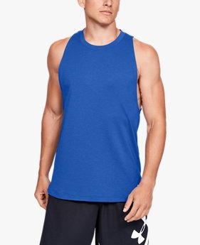 Herentanktop UA Baseline Cotton