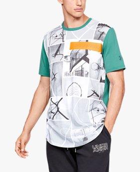 Camiseta de Manga Curta UA Snapshots Masculina