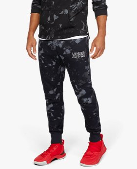 Men's UA Baseline Fleece Graphic Pants