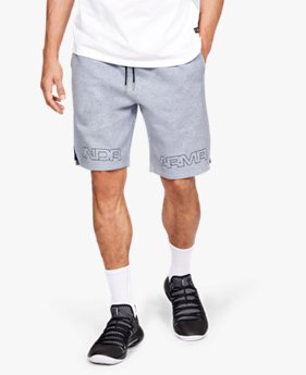 Men's UA Baseline Graphic Fleece Shorts